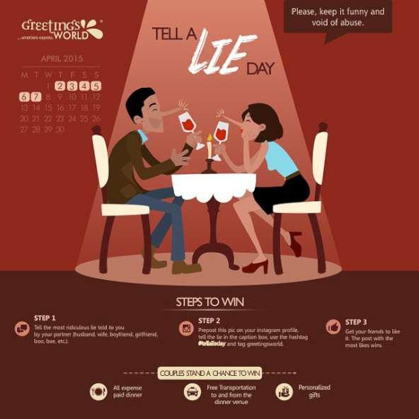 Tell a Lie Day-K30
