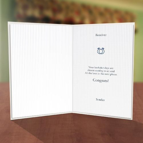 Bachelor or Bachelorette Card Inner