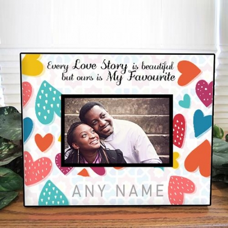 Favourite Love Story Photo Frame