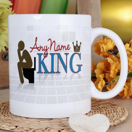 King On the Throne Mug