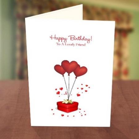 Love Balloons Birthday Card