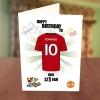 Manchester United Fan Birthday Card