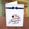 Men's Hat & Bow Tie Bachelor Party Card
