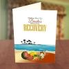 On the Beach Get Well Soon Card