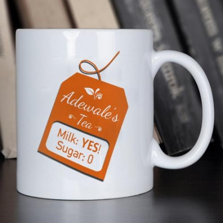 Personalised Beverage Recipe Mug