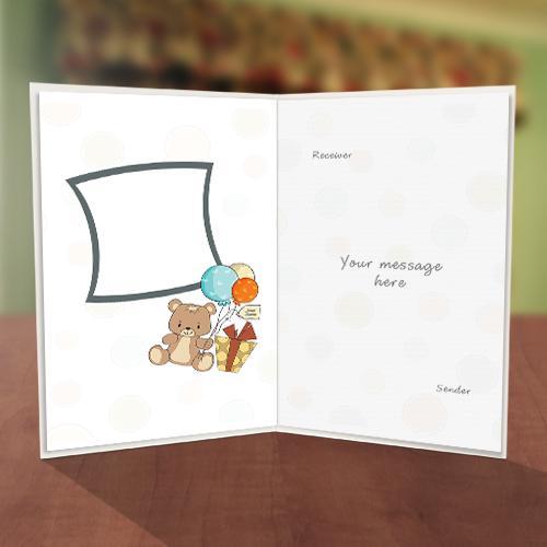 Personalised Colourful Polka Dot Birthday Card Inner