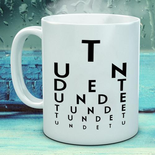 Personalised Eye Test Mug