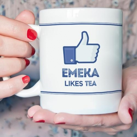 Personalised Facebook Mug
