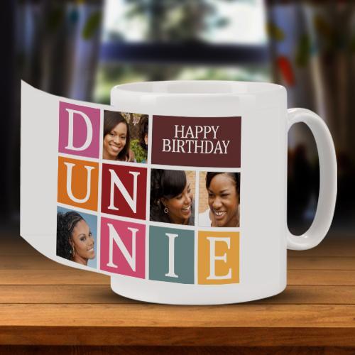Personalised Happy Birthday Tile Mug Full