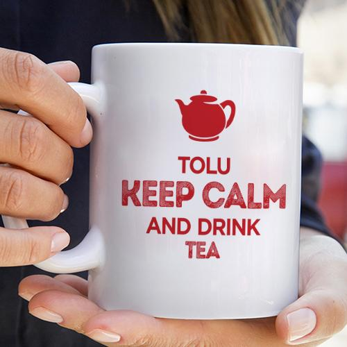 Personalised Keep Calm Mug
