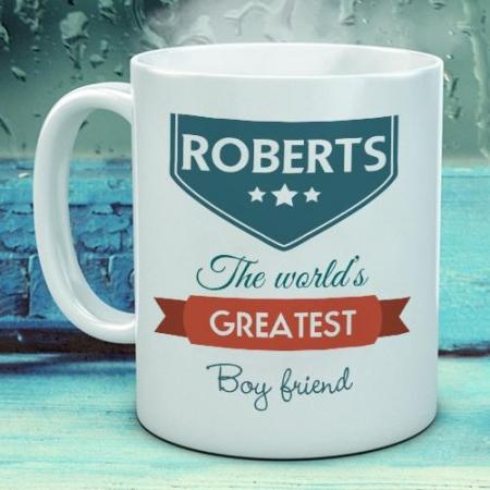 Personalised World Greatest Mug