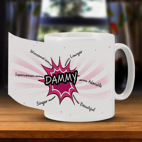 Star Bust Personality Mug for Her Full