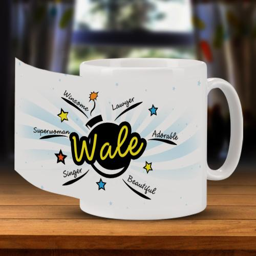 Star Bust Personality Mug for Him Full