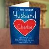 Sweet Husband Valentine Card