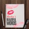 Personalised Beautiful Words Notebook
