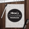 Personalised Doodle Notebook