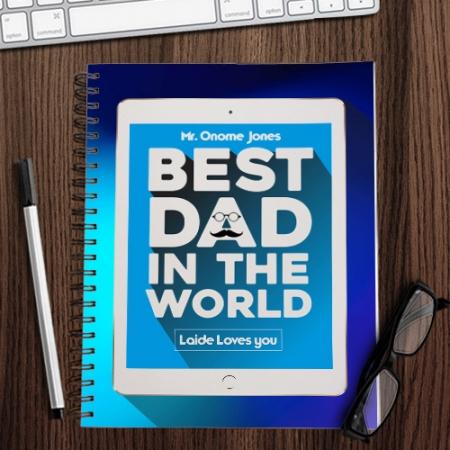 Best Dad iPad Notebook