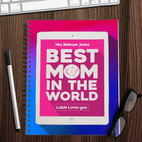 Best Mom Notebook