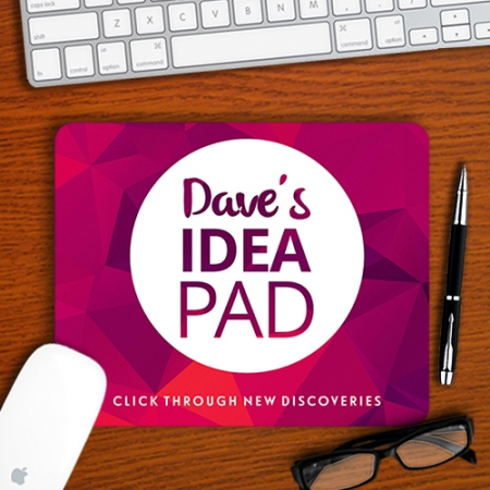 Personalised Discovery Mouse pad