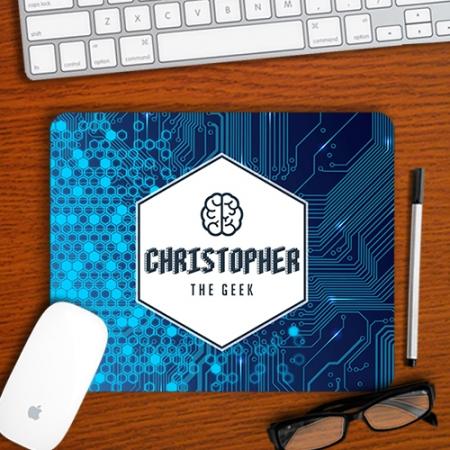 Personalised Geek Mousepad