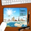 Around the world mouse pad