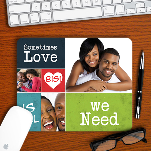 Love is all we need mousepad