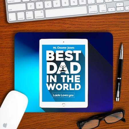 Best Dad Mousepad