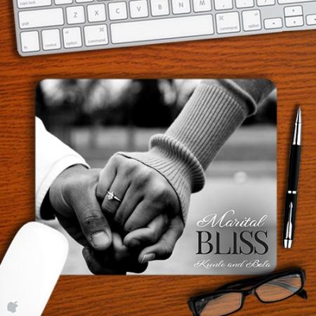 Personalised Marital Bliss Mousepad