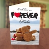 Love you forever anniversary card