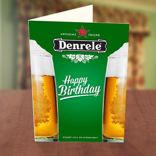 Awesome Friend Birthday Card