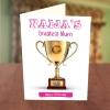 greatest mum award birthday card