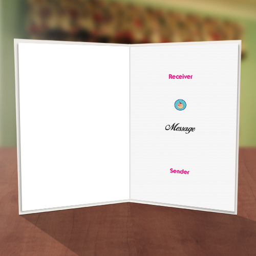 Personalised iPad Birthday Card