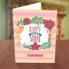 Lots of love floral Card