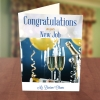 Congratulations Champagne Bucket Card