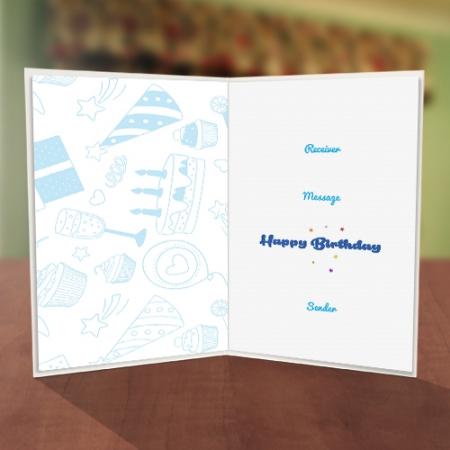 Plus One Balloon Birthday Card