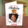Photo Upload Teddy Bear Birthday Card