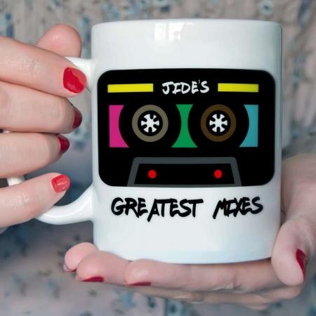Personalised Greatest Mixes Mug