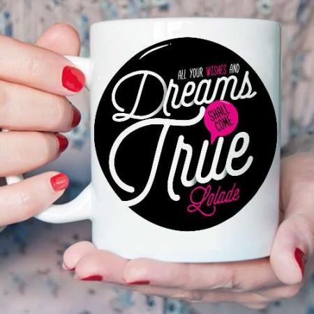 Personalised Best wishes Mug