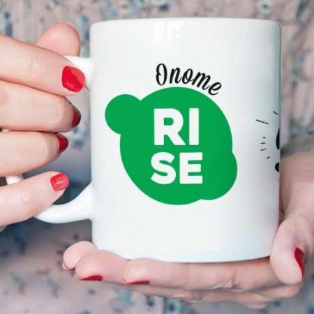 Personalised Rise and Shine Mug
