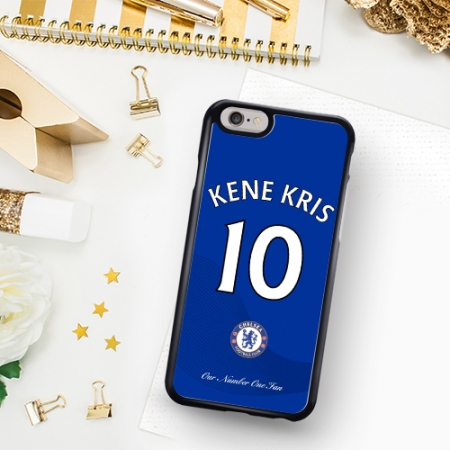 personalised chelsea fan phone case