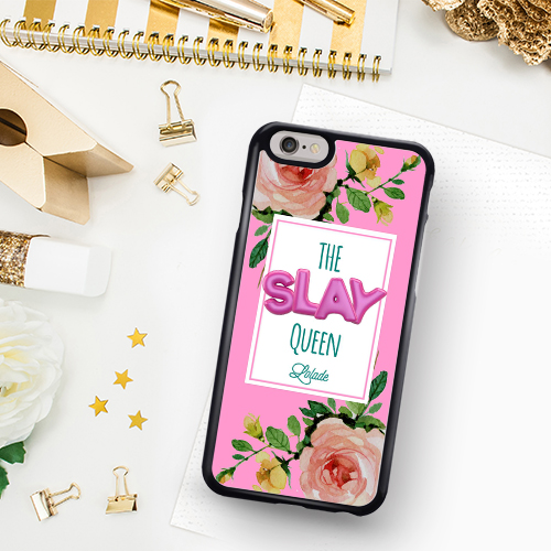 Personalised Slay Queen Phone Case