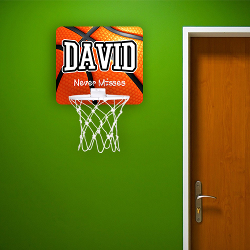 Personalised Badass Shooter Basketball Hoop