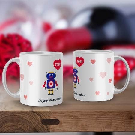 Personalised Love Machine mug