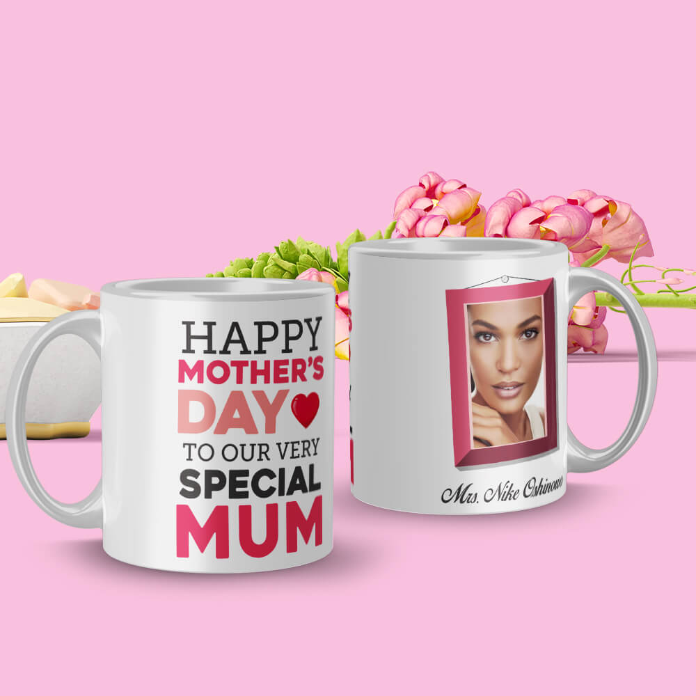 Special Typography Mother's Day Mug